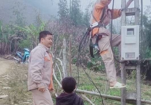 Electricity for a village